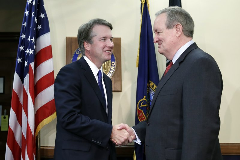 Brett Kavanaugh, Mike Crapo