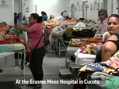 Sick Venezuelans Flee to Colombia for Treatment