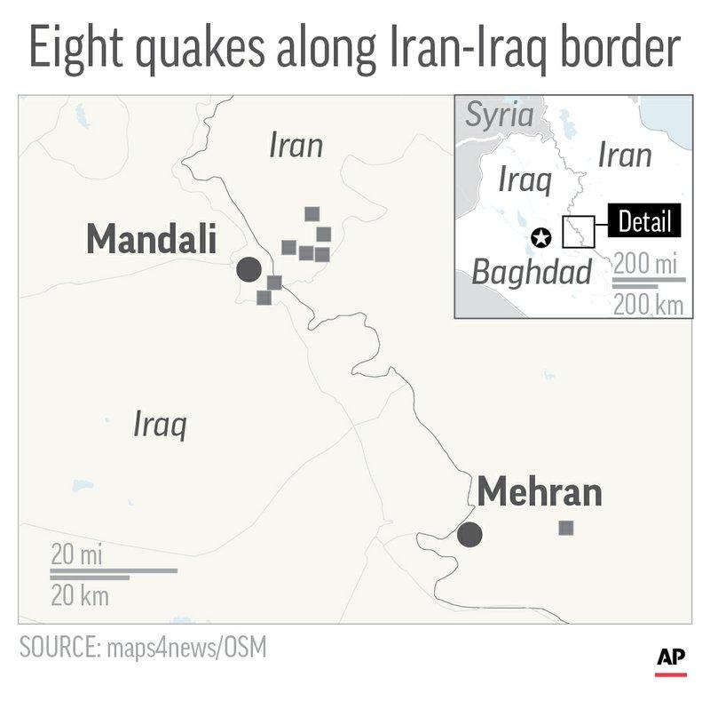 IRAN IRAQ QUAKE