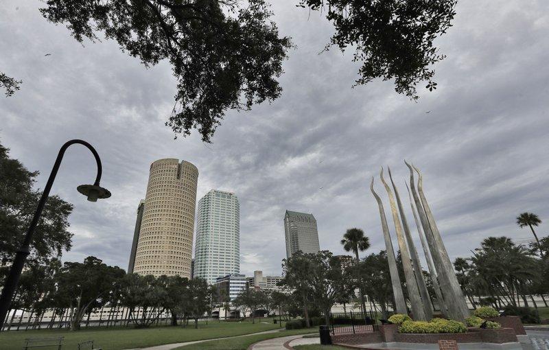 Hurricane Irma, Tampa Skyline