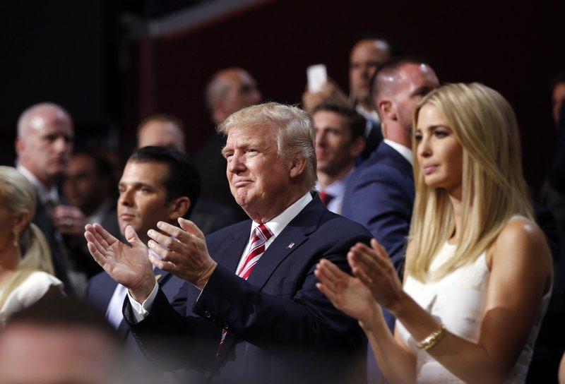 Donald Trump, Donald Trump, Jr., Ivanka Trump