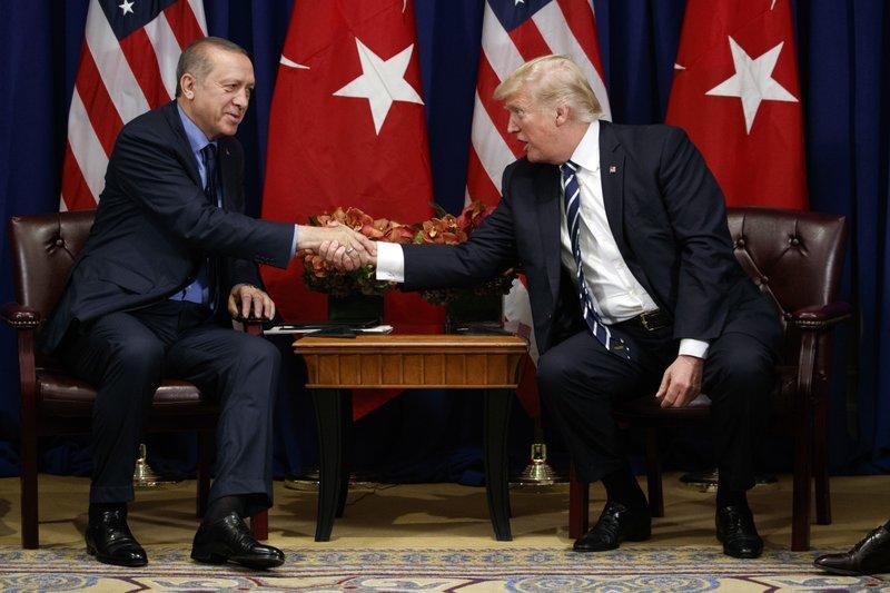 Donald Trump, Recep Tayyip Erdogan