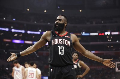 a790ffce3720 LOS ANGELES (AP) — James Harden scored 31 points