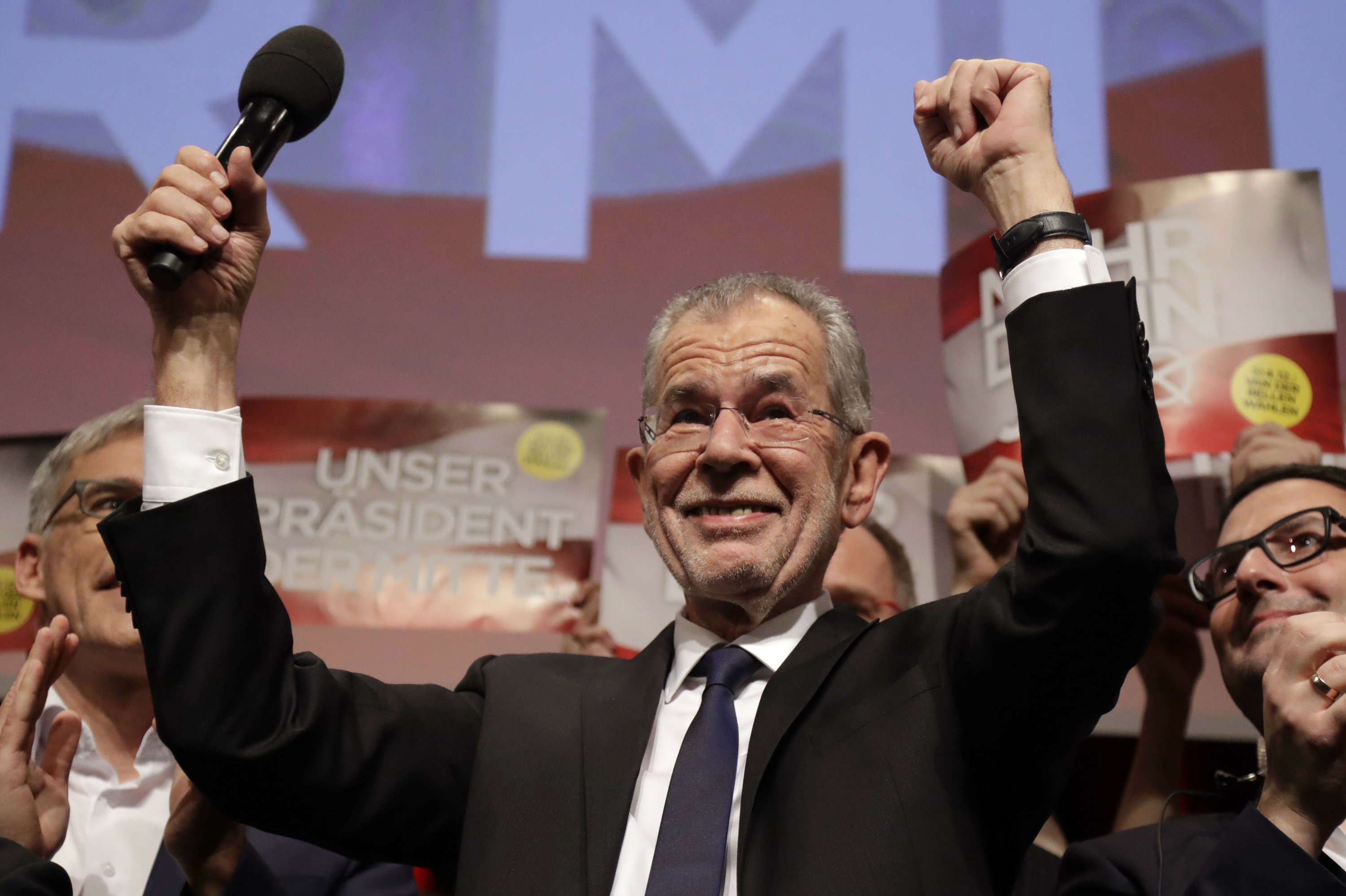 Mainstream relief as leftist candidate wins in Austria