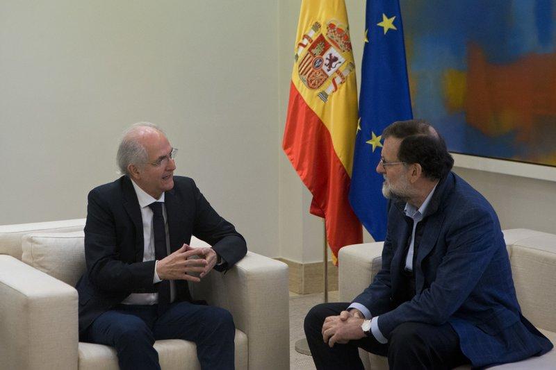 Antonio Ledezma, Prime Minister Mariano Rajoy