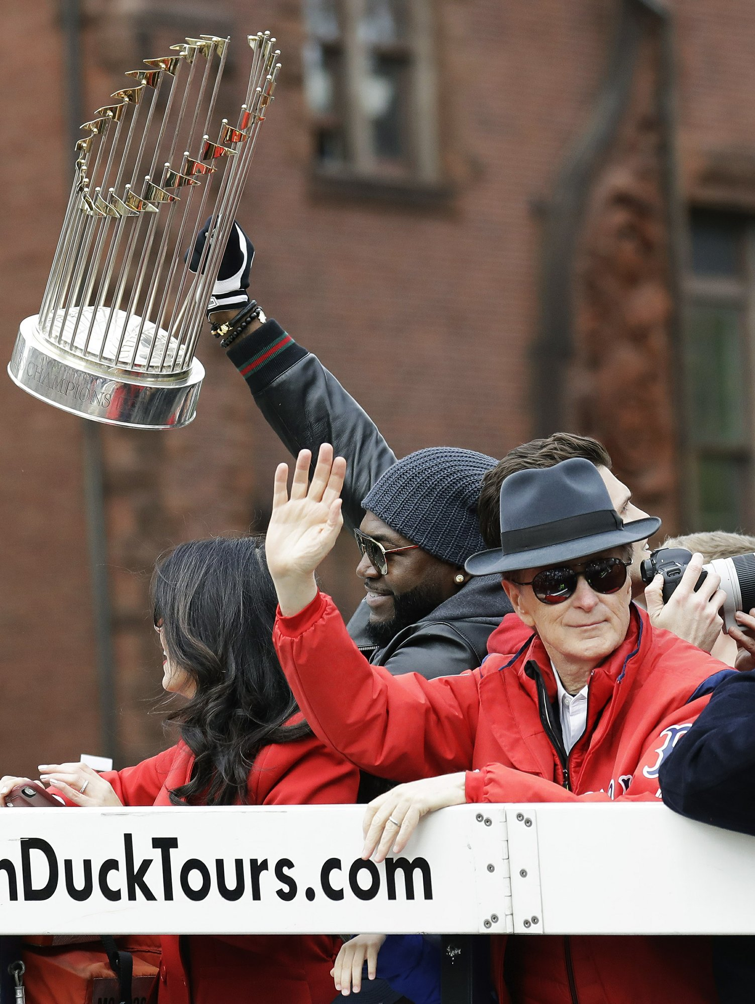 World Series trophy repaired after parade damage