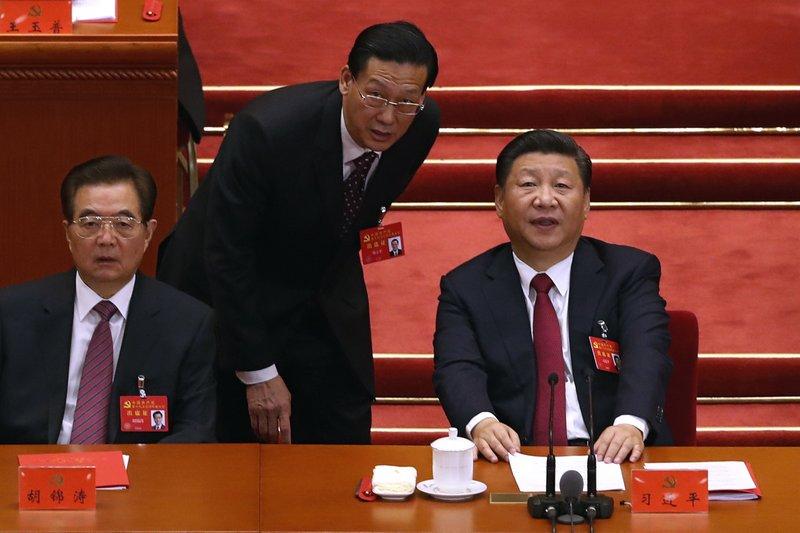 Xi Jinping, Hu Jintao