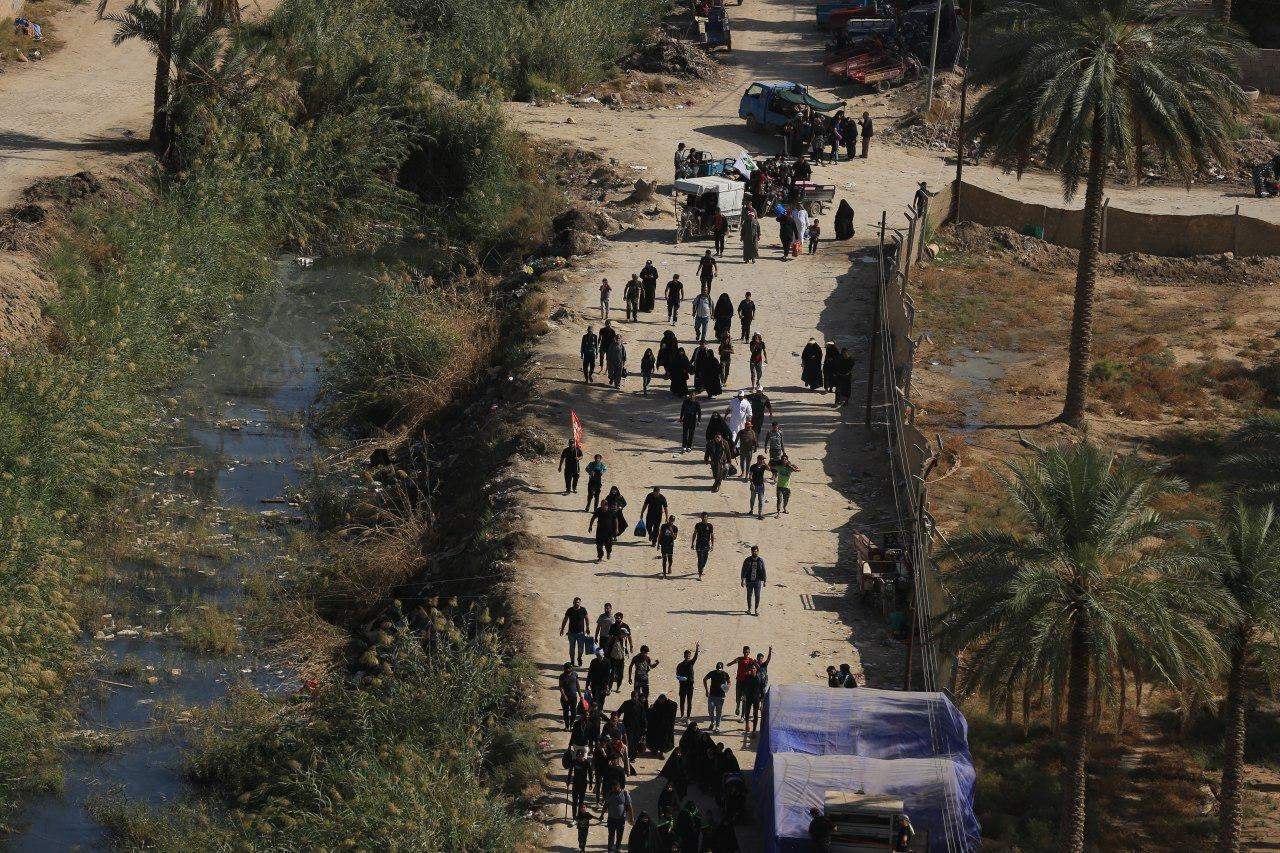 Walk to heaven': Shiite pilgrims trek to Iraq's Karbala