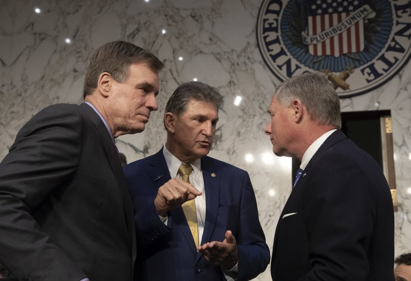 Mark Warner, Richard Burr, Joe Manchin