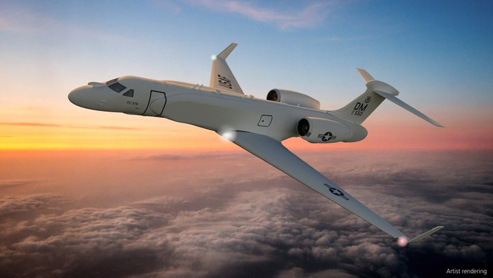BAE Systems Moves Compass Call Electronic Warfare System to Modern Business Jet