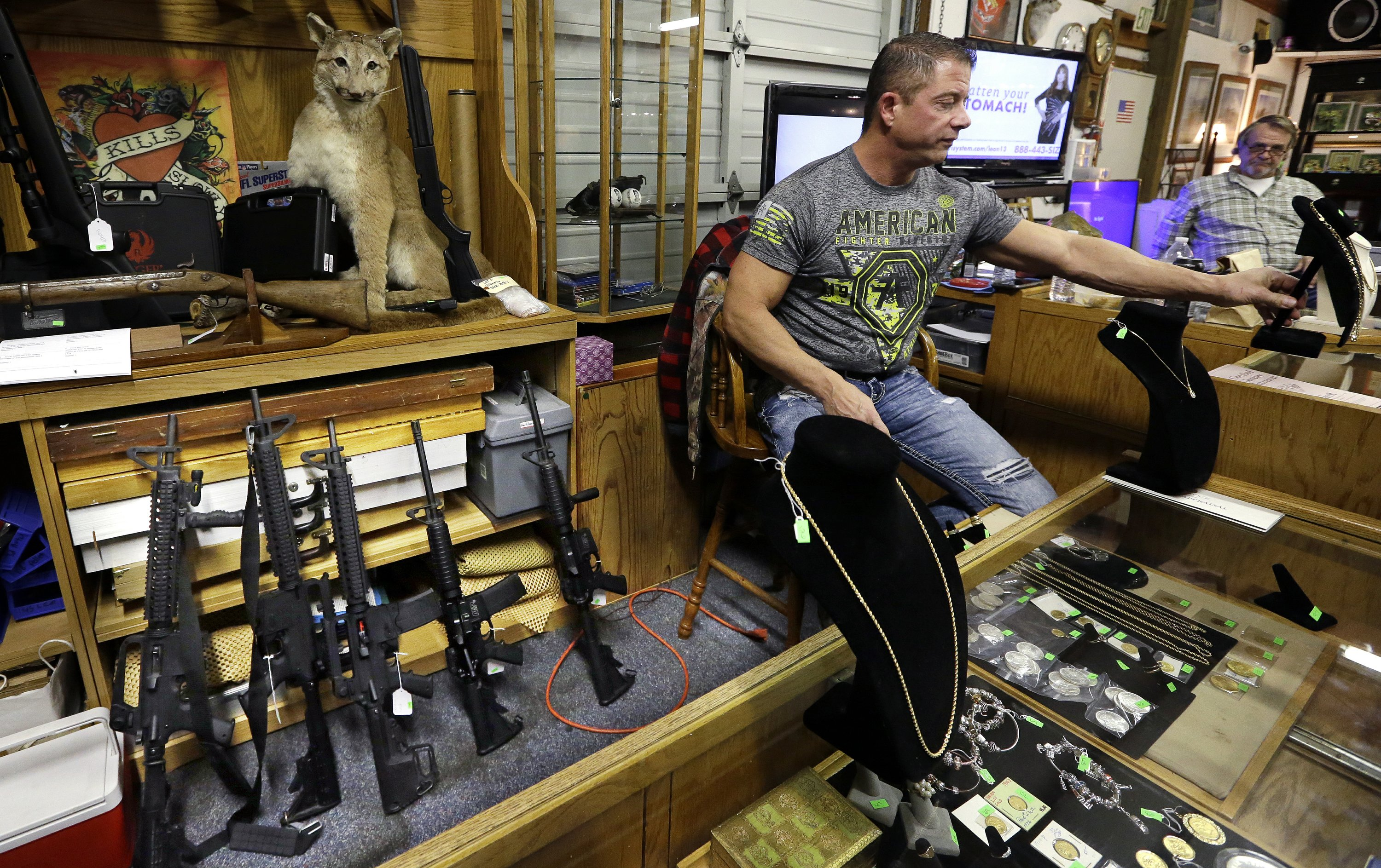 Spokane Gun Trader >> Ap Finds Guns Sold By Police Were Used In New Crimes