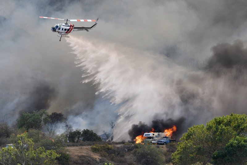 Blue Cut wildfire