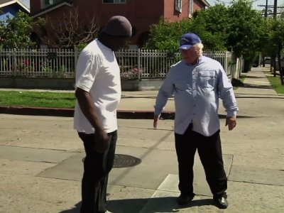 Two Men United By 1992 LA Riots Return to Scene