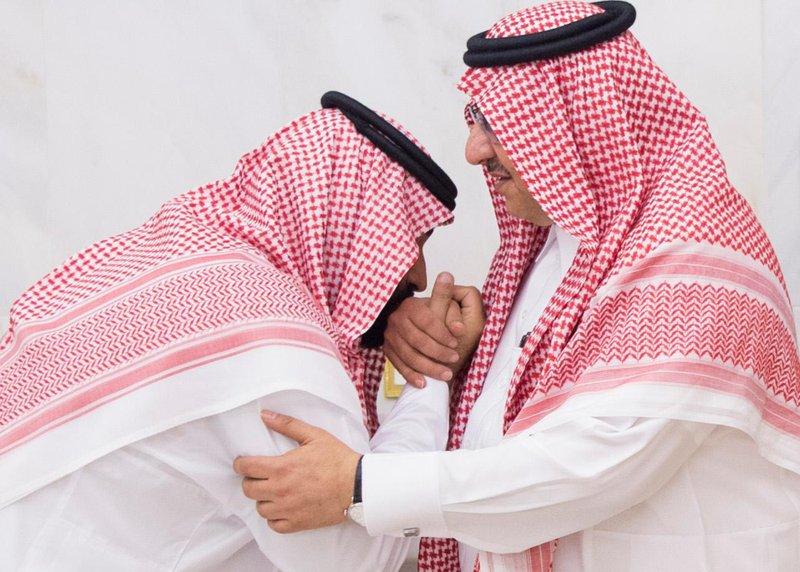 Mohammed bin Salman, Mohammed bin Nayef