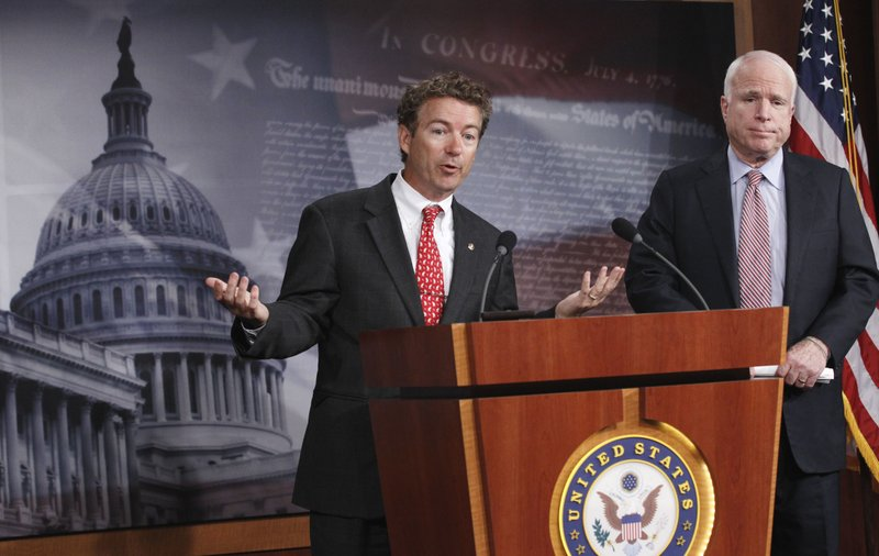 John McCain, Rand Paul