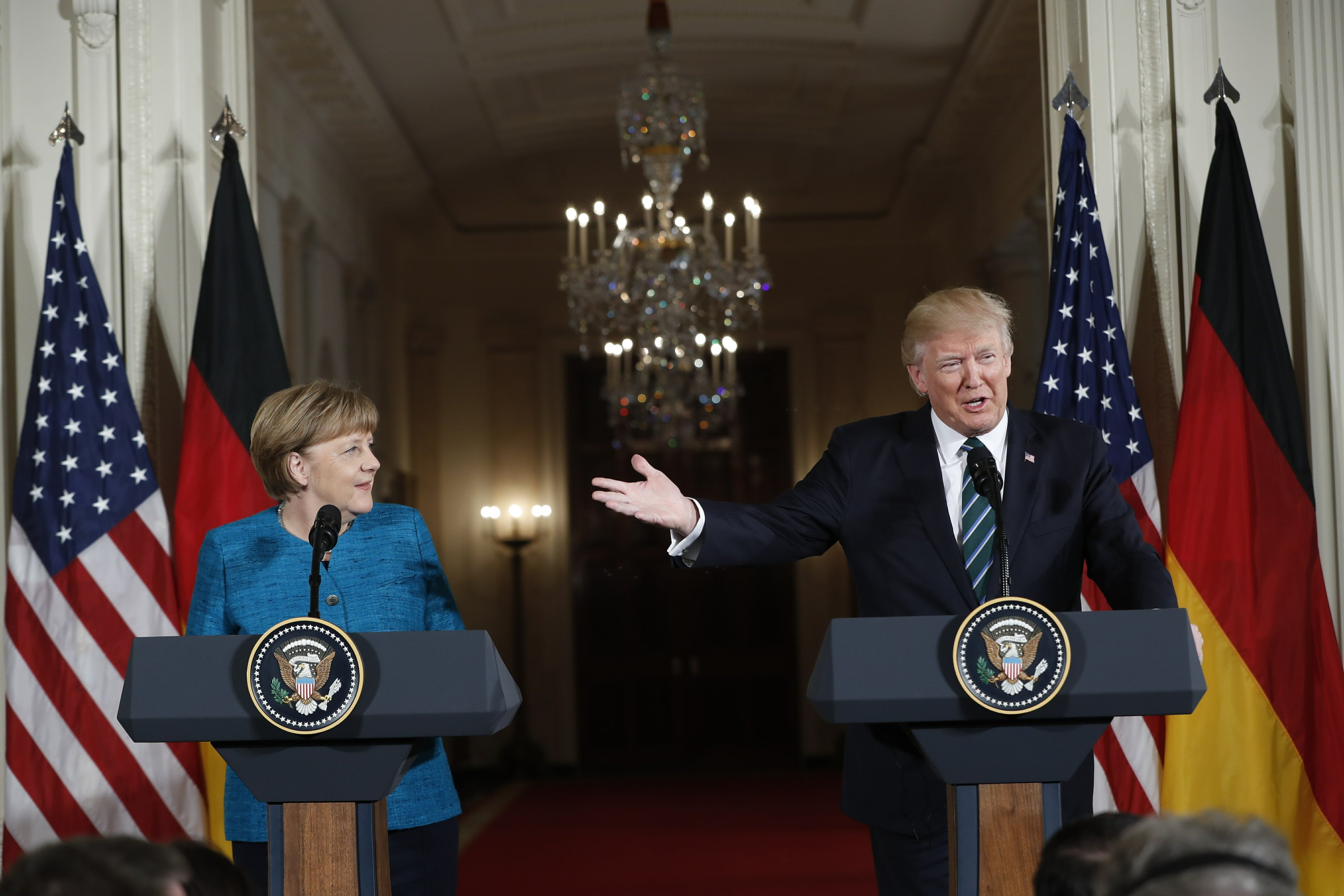 Trump says US 'must be paid more' to defend Germany