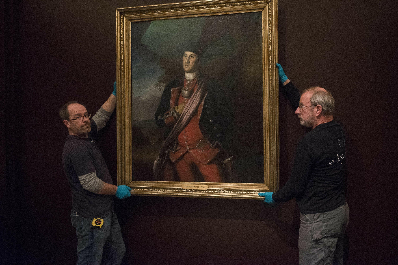 Mount Vernon displays earliest known Washington portrait