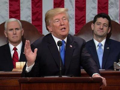 Trump's State of the Union Speech, Abridged