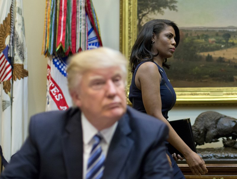 Donald Trump, Omarosa Manigault