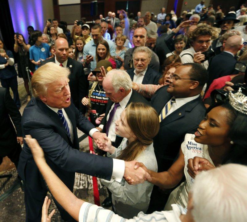 Donald Trump, Daja Dial