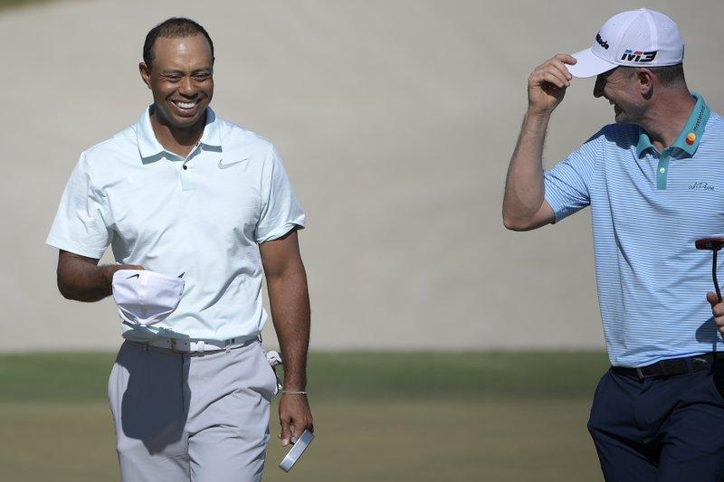 Tiger Woods, Justin Rose