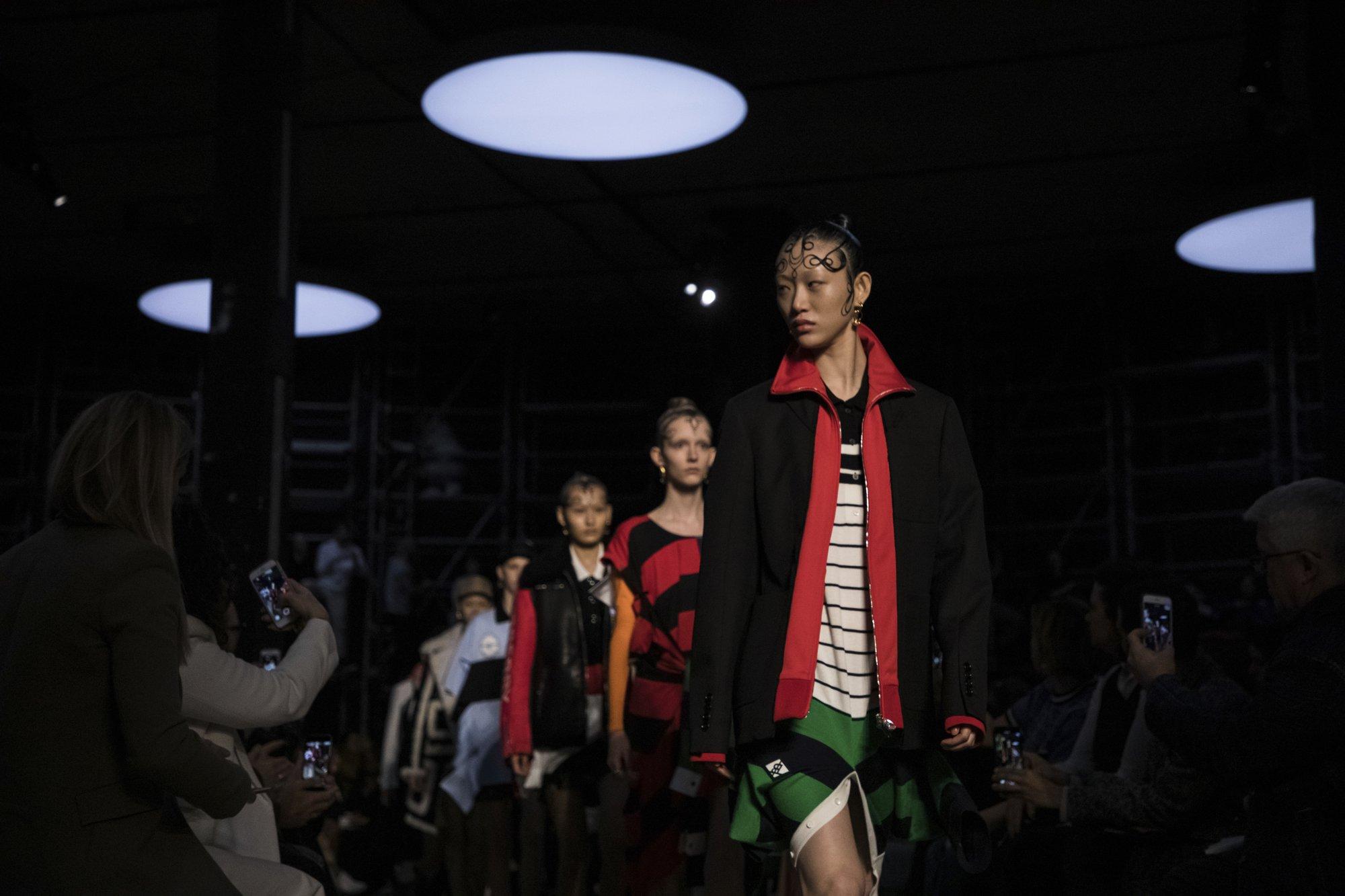 Burberry catwalk showcases streetwear 9a386c8a6ef28