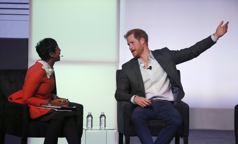 Mellody Hobson, Prince Harry