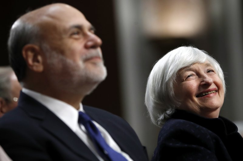 Janet Yellen, Ben Bernanke
