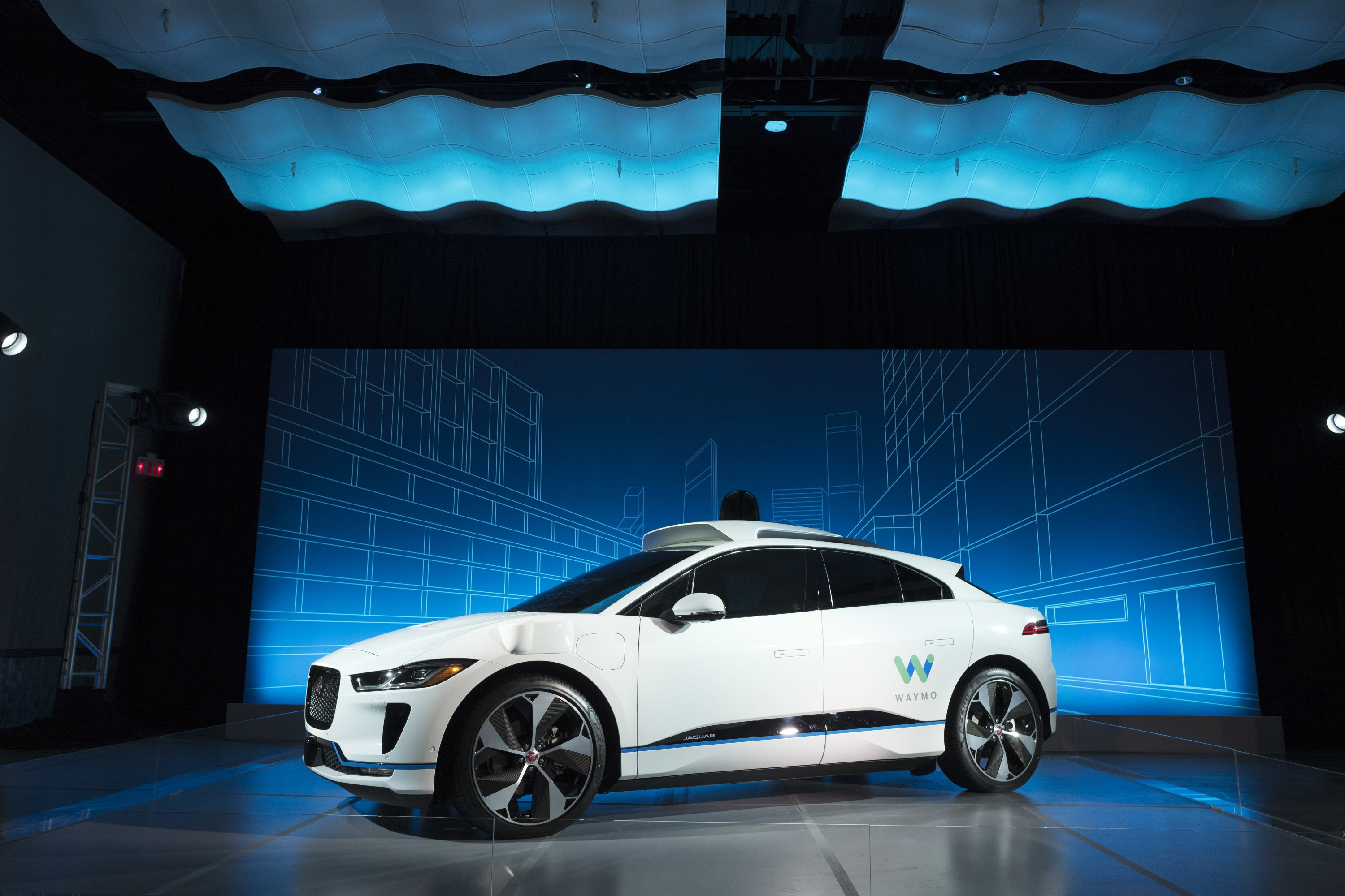 Waymo to buy 20,000 Jaguars for robotic ride-hailing service