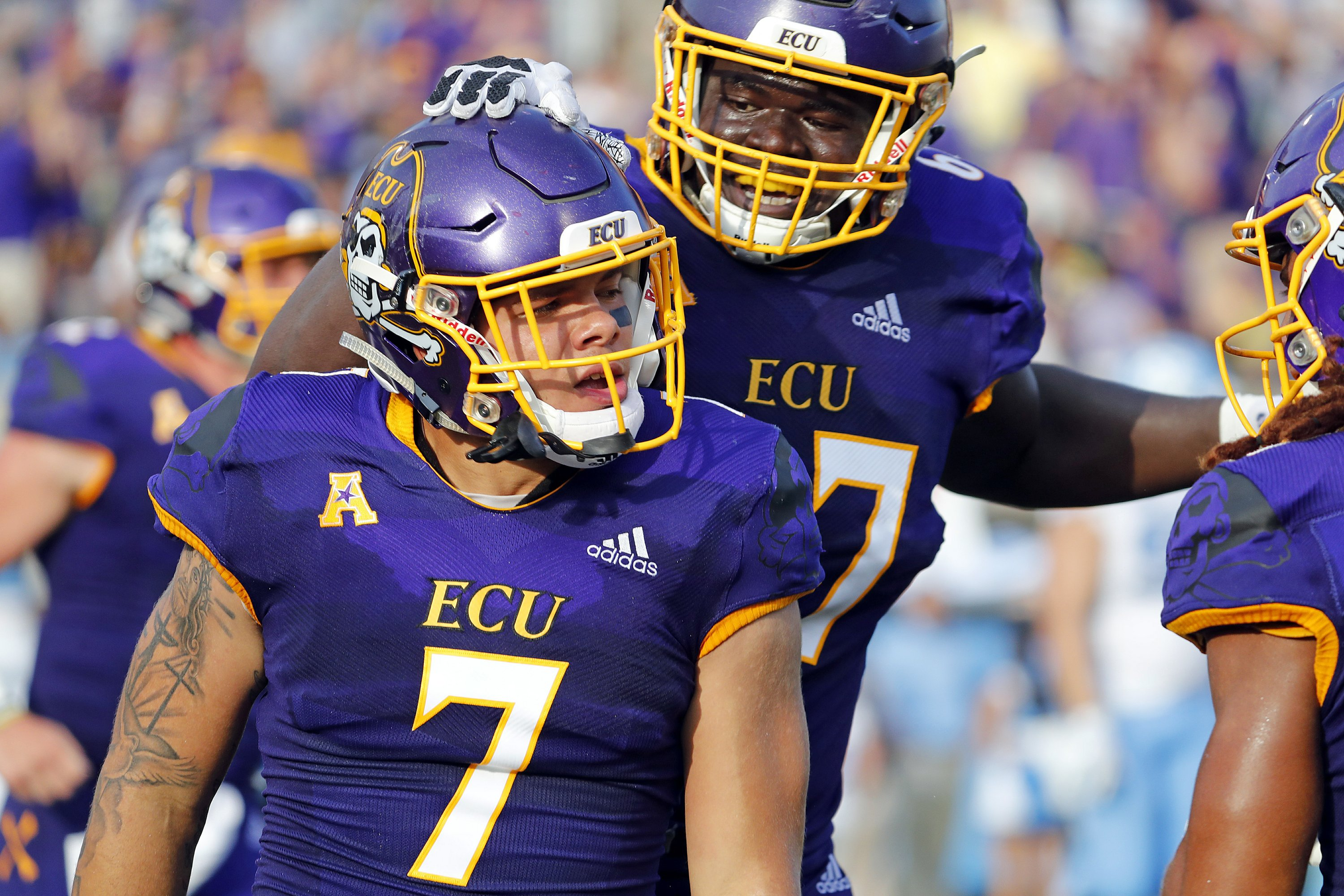 the latest 67672 6185a East Carolina beats North Carolina 41-19 in in-state matchup