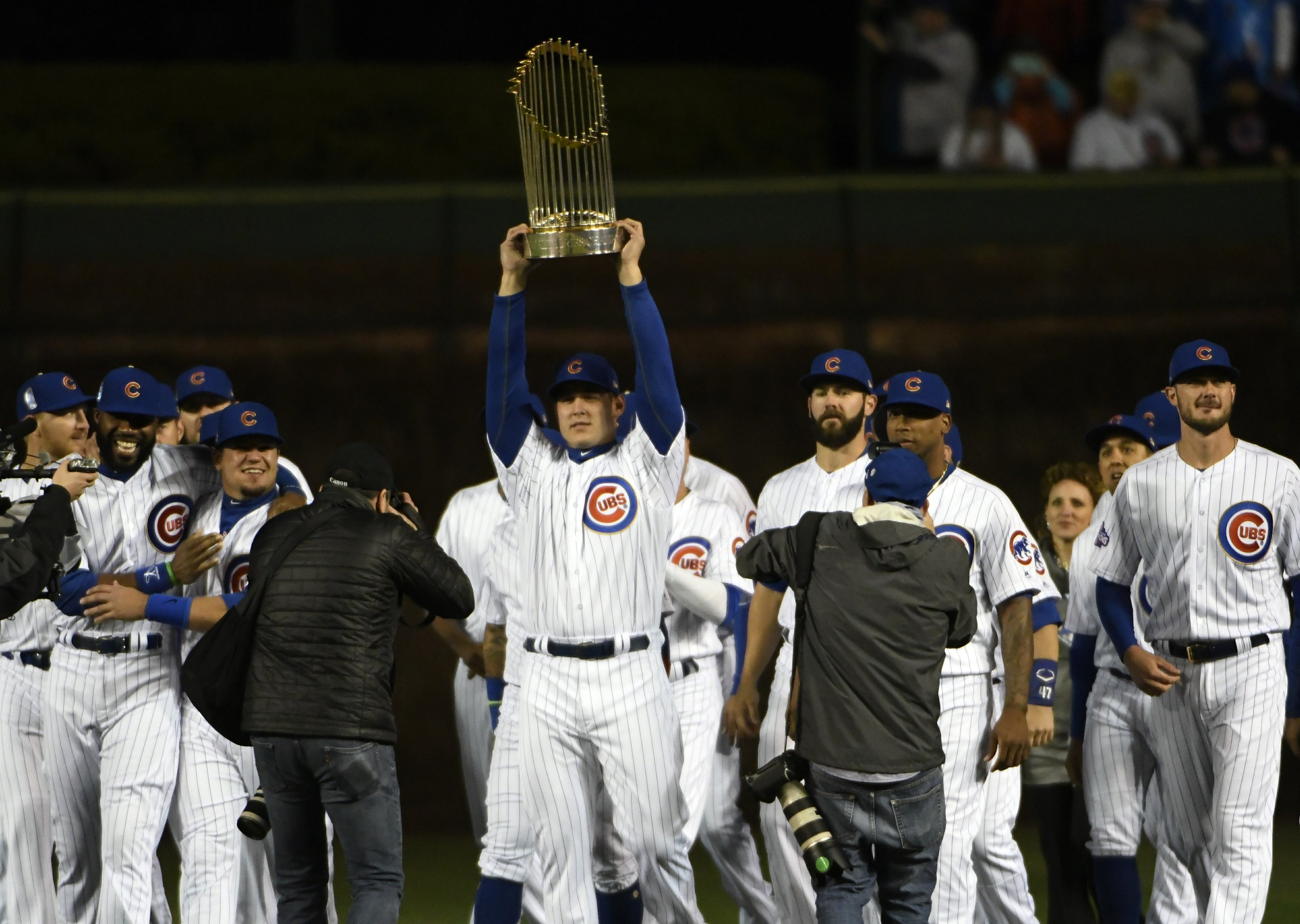 Chicago Cubs Championship Ring World Seires 2016 MVP Anthony Rizzo Commemorate