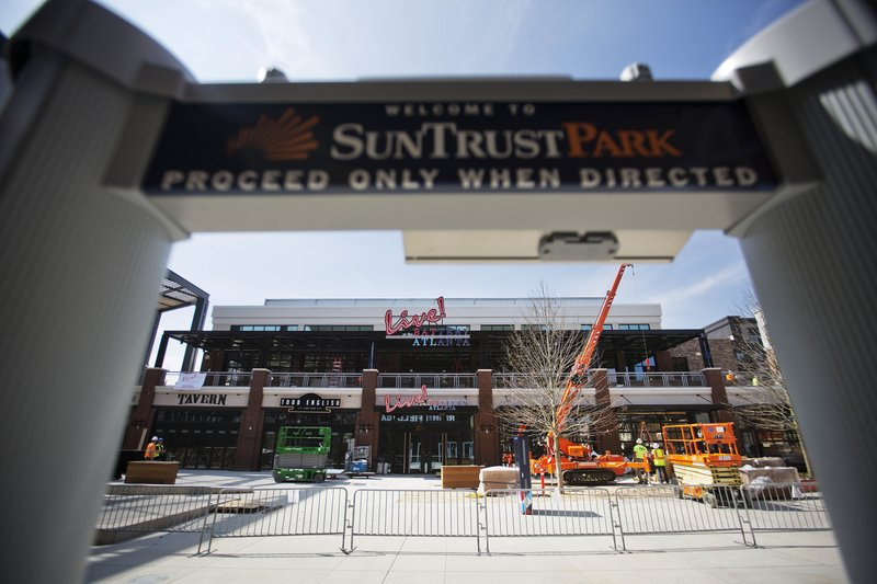 competitive price 01c4a 922d3 Braves' new ballpark could be game-changer for industry
