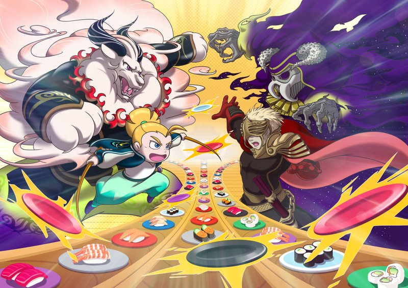 Nintendo News: Win Battles by…Eating Sushi? New Game Trailer Details Frenetic Puzzle-Action of Sushi Striker: The Way of Sushido