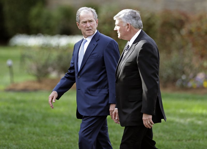 George W. Bush, Franklin Graham