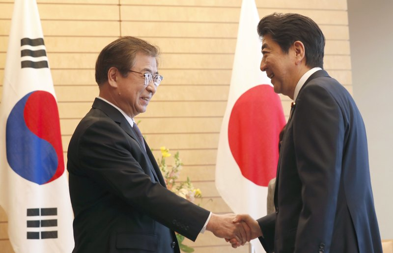 Suh Hoon, Shinzo Abe