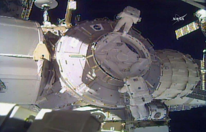 The Latest: Spacewalking astronauts salvage job, back inside