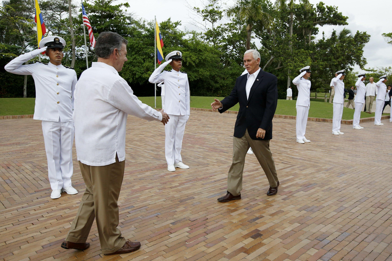 LO ÚLTIMO: Venezuela rechaza palabras de Pence en Colombia