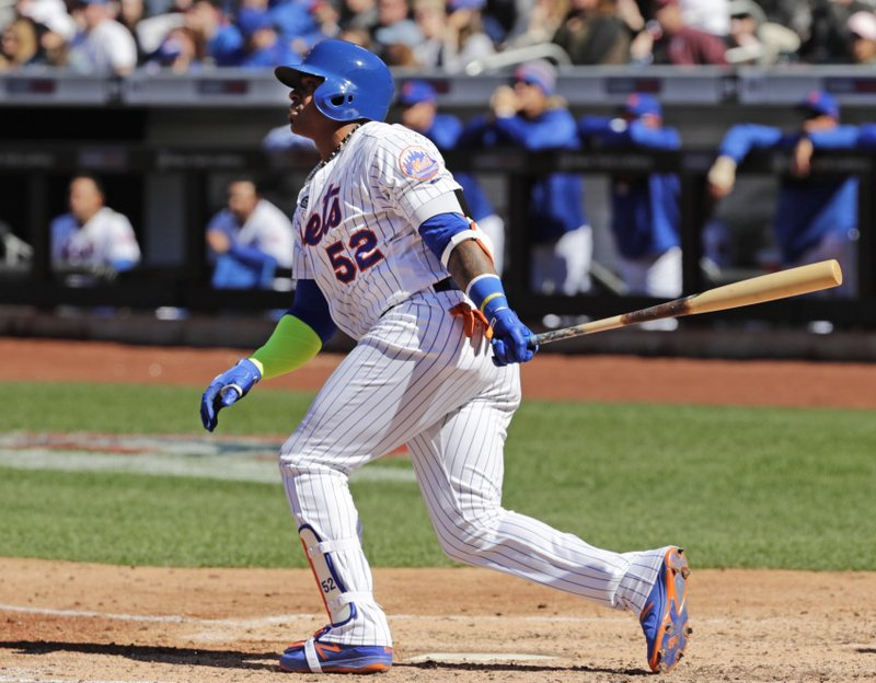 pretty nice 06894 fd37e Cespedes HR, Mets top Cards 6-2 for 1st 2-0 start since 2013