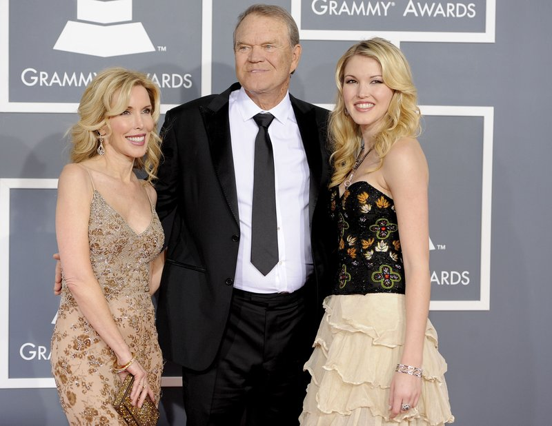 Glen Campbell, Kim Woolen, Ashley Campbell