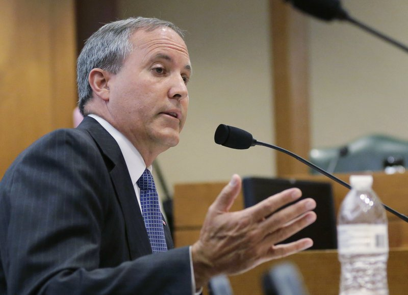 Top Aides to Texas AG Ken Paxton Accuse Him of Bribery and Abuse of Office