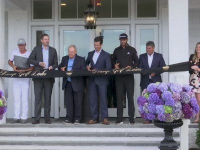 Trump Sons Open Golf Clubhouse