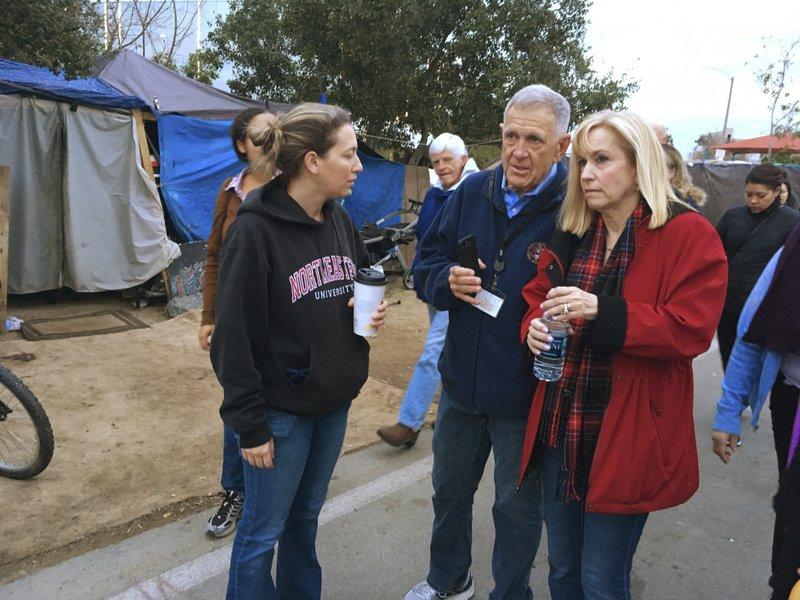 Brooke Weitzman, David Carter, Marianne Van Riper