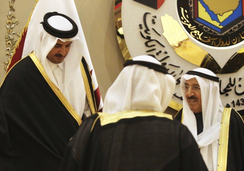 Tamim bin Hamad Al Thani, Sabah Al Ahmad Al Sabah