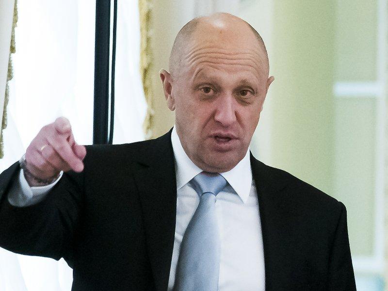 Alexei Miller, Yevgeny Prigozhin