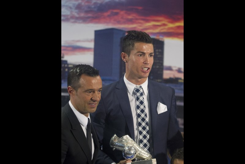 Cristiano Ronaldo, Jorge Mendes