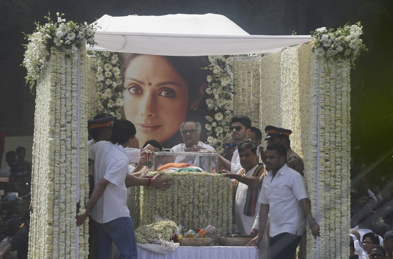 If Bollywood is the world's biggest film industry, then Sridevi was its queen (edition.cnn.com)