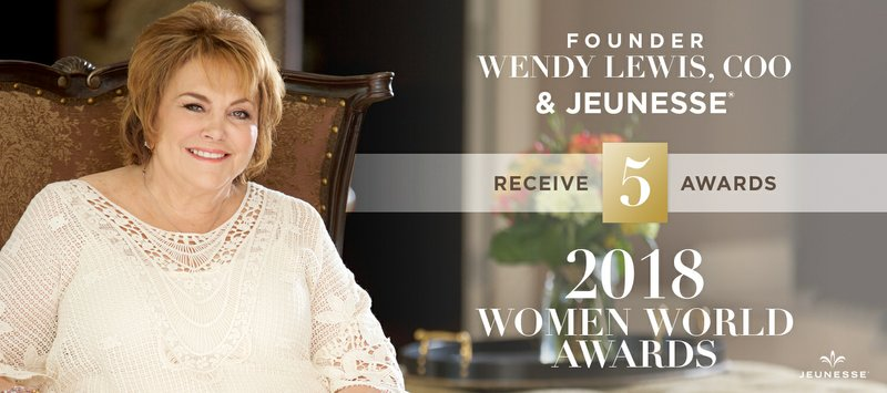 Jeunesse® Founder Wendy Lewis Named Champion of the Year