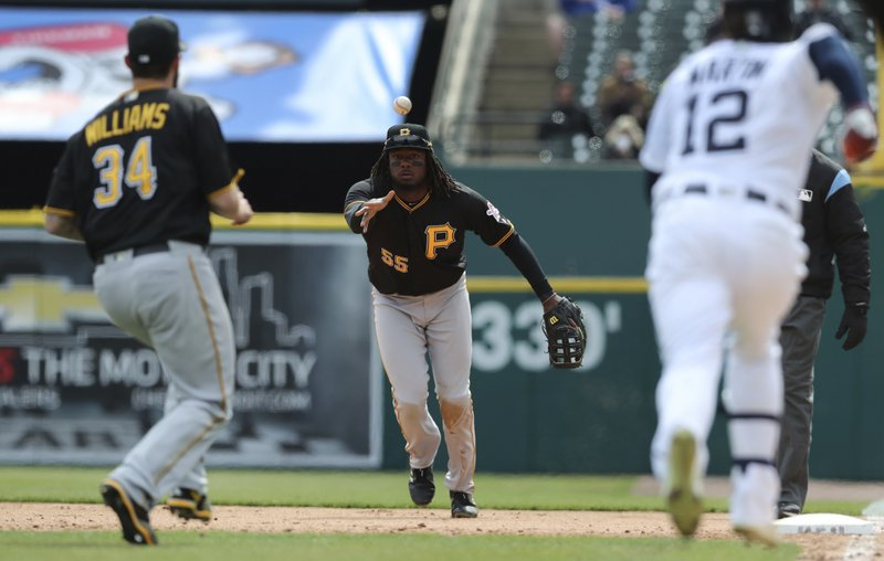 Josh Bell, Trevor Williams, Leonys Martin