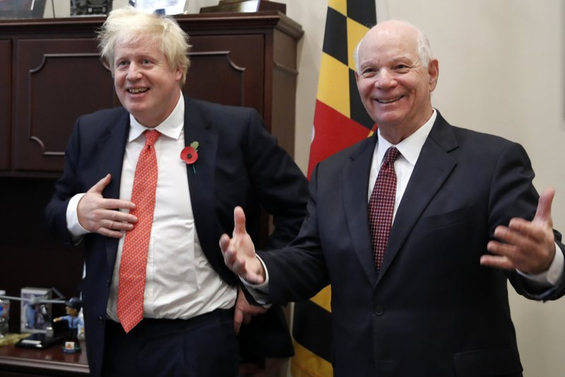 Boris Johnson, Ben Cardin