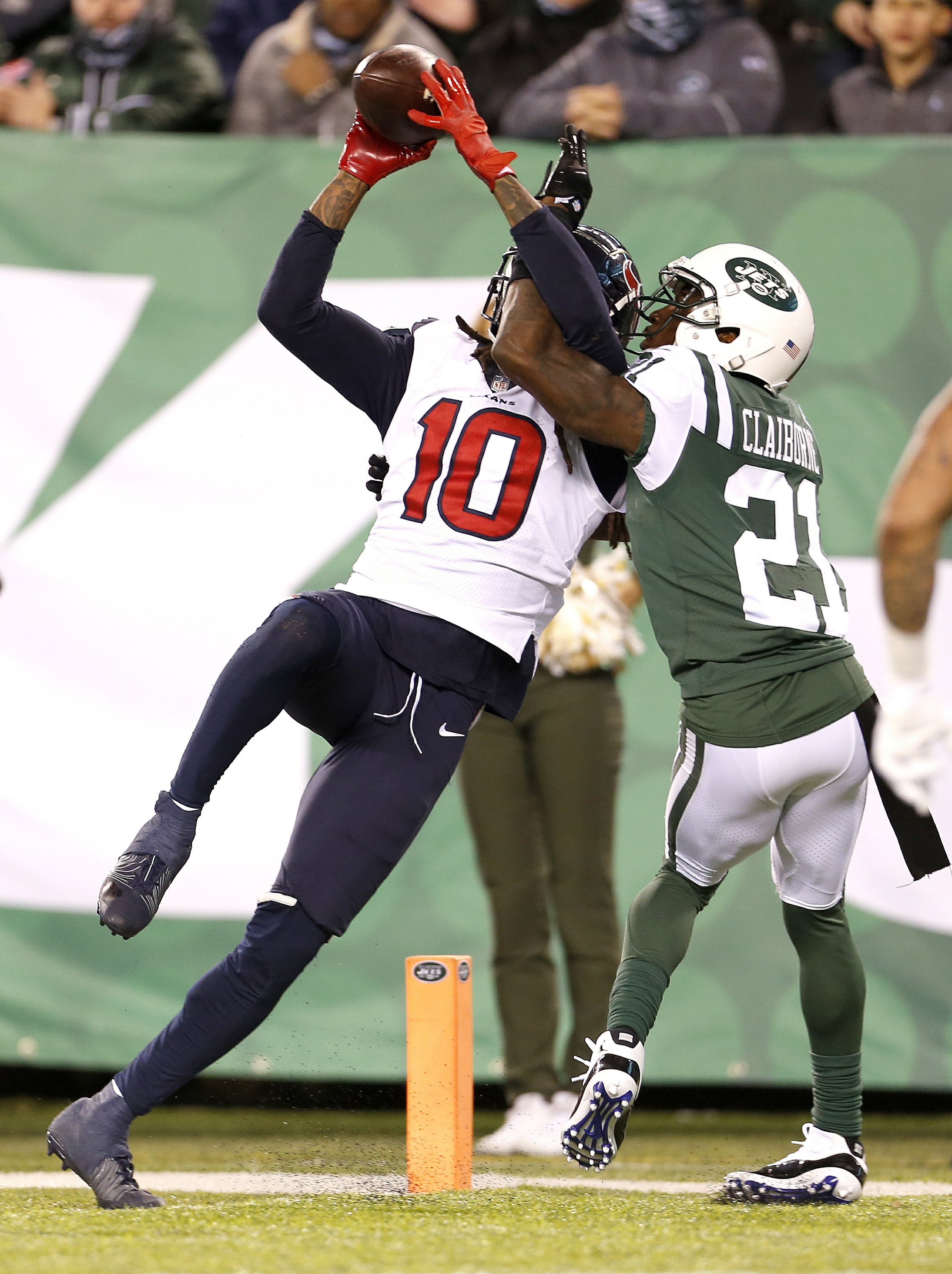 96894b3a Watson leads Texans to 29-22 comeback win over Darnold, Jets